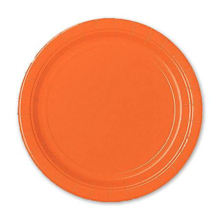 Фото - Набор тарелок Amscan Orange Peel 17 см 8 шт спирали amscan пастель 55 см 12 шт