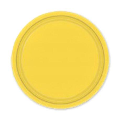 Фото - Набор тарелок Amscan Yellow Sunshine 17 см 8 шт спирали amscan пастель 55 см 12 шт