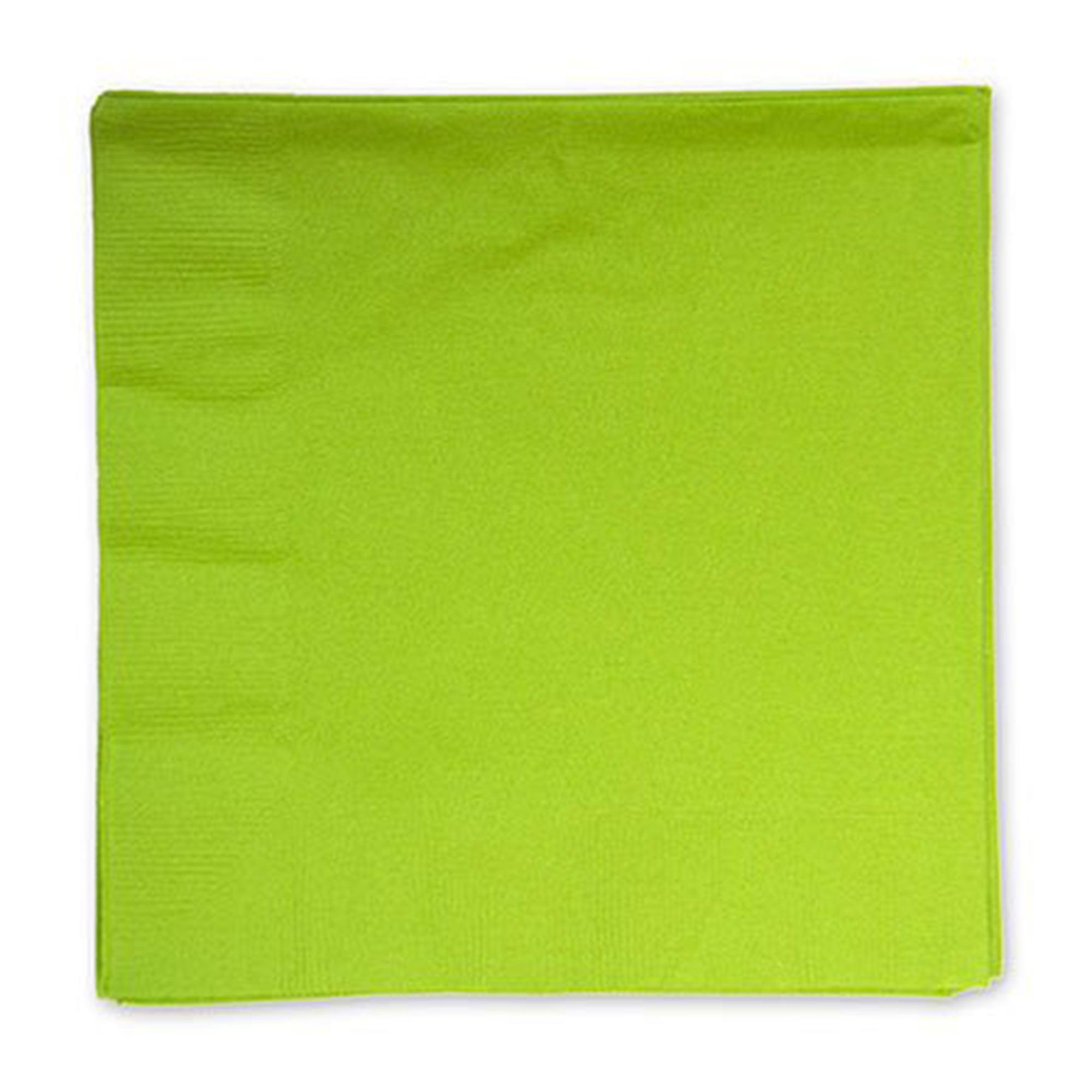 Фото - Салфетки Amscan Kiwi Green 33 см 16 шт спирали amscan пастель 55 см 12 шт
