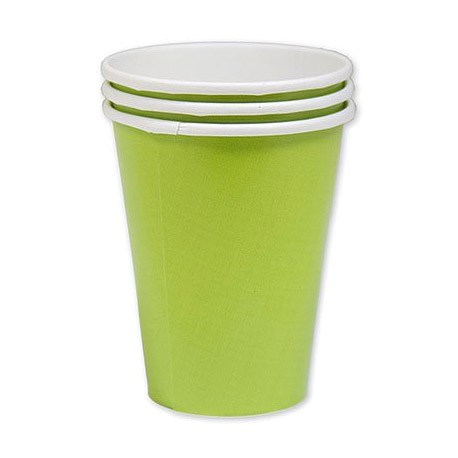 Набор стаканов Amscan Kiwi Green 266 мл 8 шт amscan стакан me to you 270 мл 8 шт