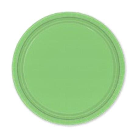 Фото - Набор тарелок Amscan Kiwi Green 17 см 8 шт спирали amscan пастель 55 см 12 шт