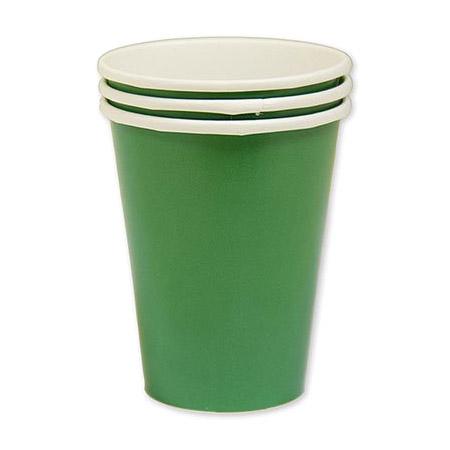Набор стаканов Amscan Festival Green 266 мл 8 шт amscan стакан me to you 270 мл 8 шт