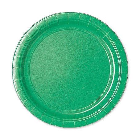 Набор тарелок Amscan Festival Green 17 см 8 шт набор стаканов amscan apple red 266 мл 8 шт