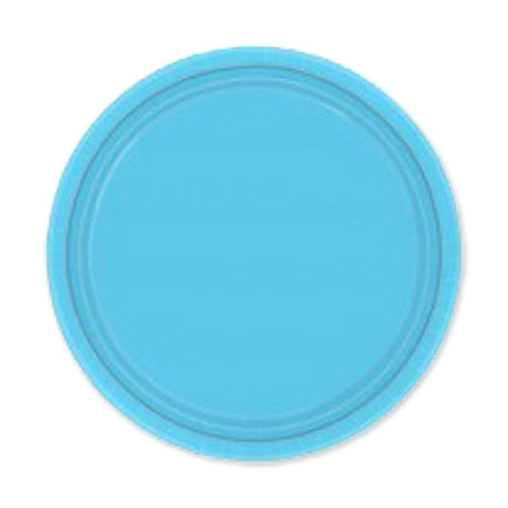 Набор тарелок Amscan Caribbean Blue 17 см 8 шт amscan стакан me to you 270 мл 8 шт