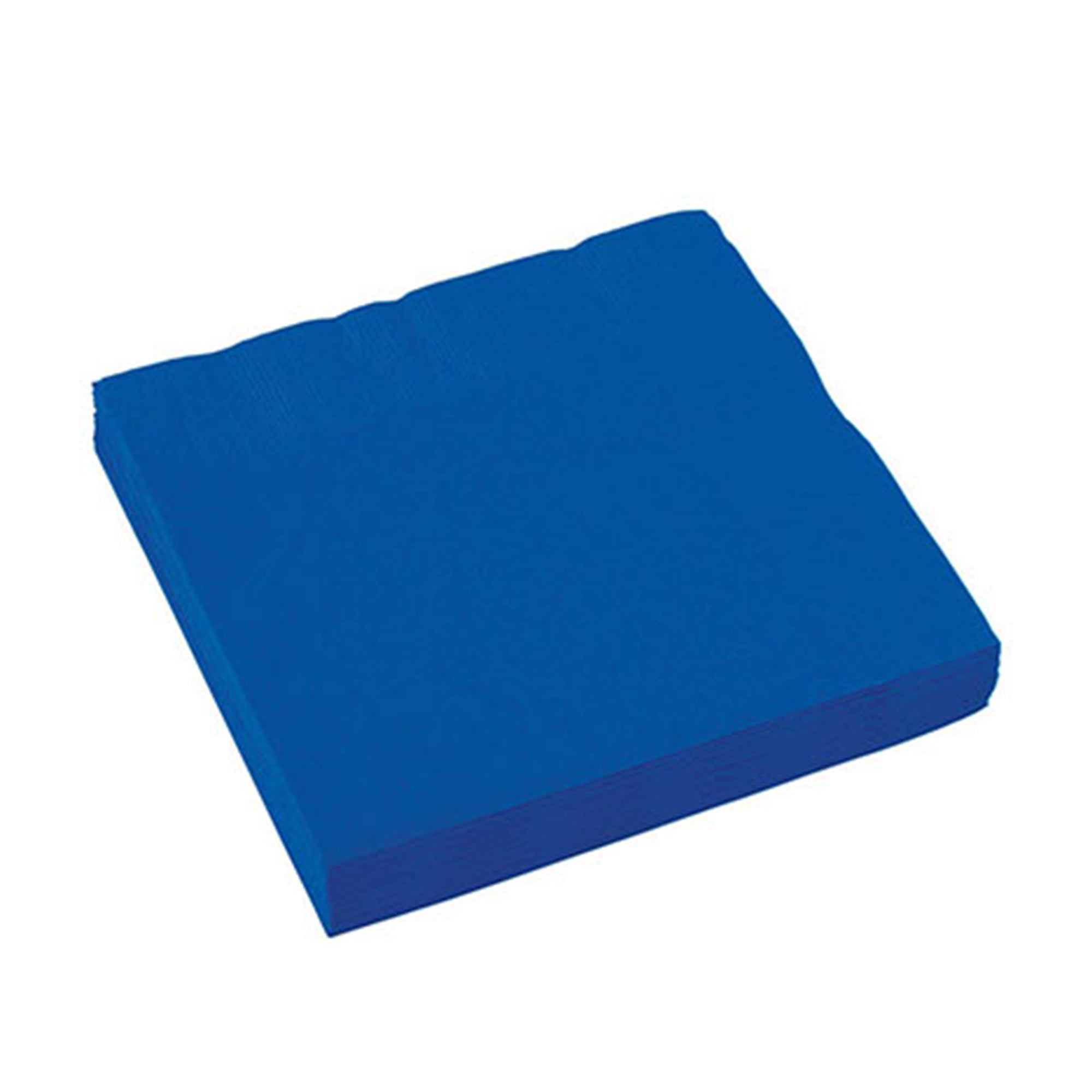 Салфетки Amscan Bright Royal Blue 33 см 16 шт набор стаканов amscan bright royal blue 266 мл 8 шт