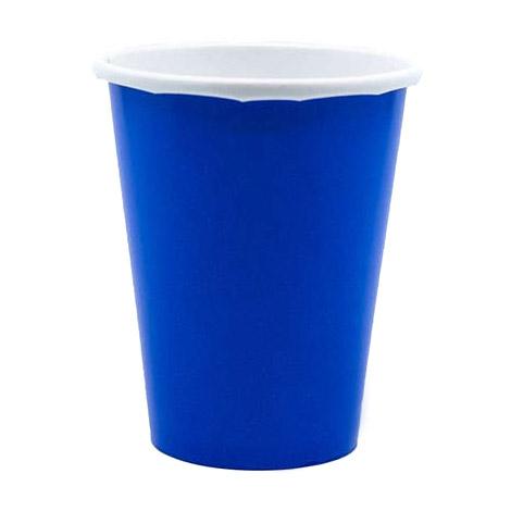 Набор стаканов Amscan Bright Royal Blue 266 мл 8 шт amscan стакан me to you 270 мл 8 шт
