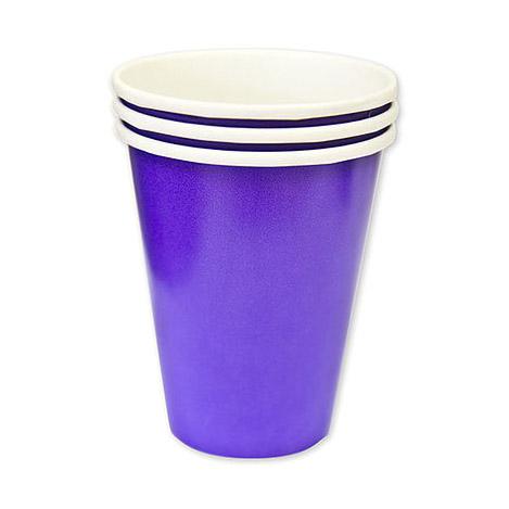 Набор стаканов Amscan Purple 266 мл 8 шт набор стаканов procos элегантная вечеринка 200 мл 8 шт