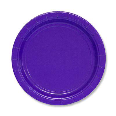 Фото - Набор тарелок Amscan Purple 17 см 8 шт спирали amscan пастель 55 см 12 шт