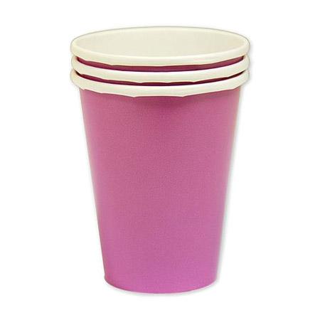 Набор стаканов Amscan Bright Pink 266 мл 8 шт amscan стакан me to you 270 мл 8 шт
