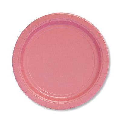 Фото - Набор тарелок Amscan Pink 17 см 8 шт спирали amscan пастель 55 см 12 шт