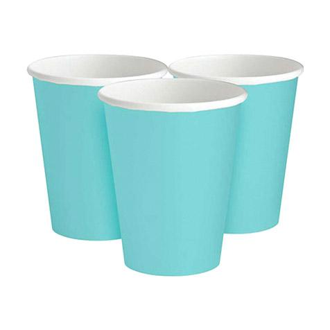 Набор стаканов Amscan Robbins Egg Blue 266 мл 8 шт набор стаканов procos элегантная вечеринка 200 мл 8 шт