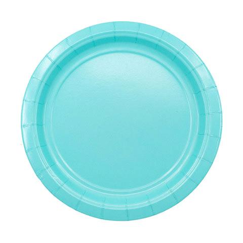 Фото - Набор тарелок Amscan Robins Egg Blue 17 см 8 шт спирали amscan пастель 55 см 12 шт