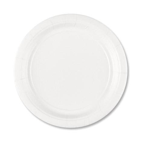 Набор тарелок Amscan Frosty White 17 см 8 шт amscan стакан me to you 270 мл 8 шт