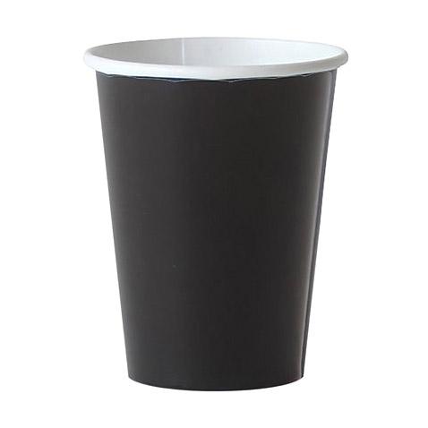 Набор стаканов Amscan Jet Black 266 мл 8 шт amscan стакан me to you 270 мл 8 шт