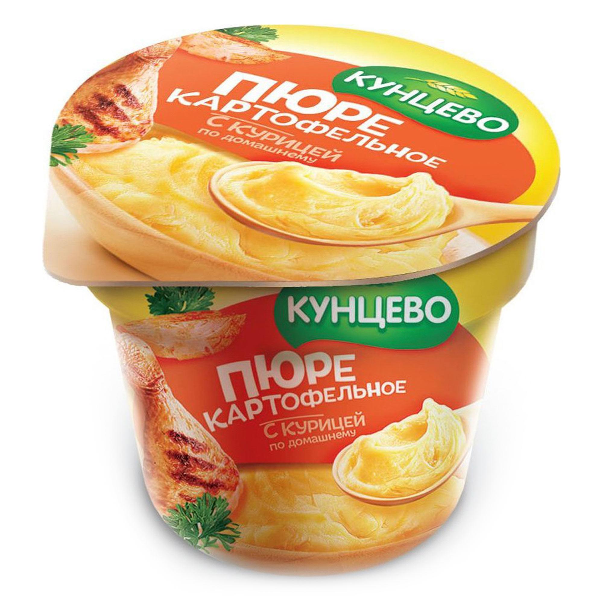 Картофельное пюре КУНЦЕВО со вкусом курицы по домашнему 40 г