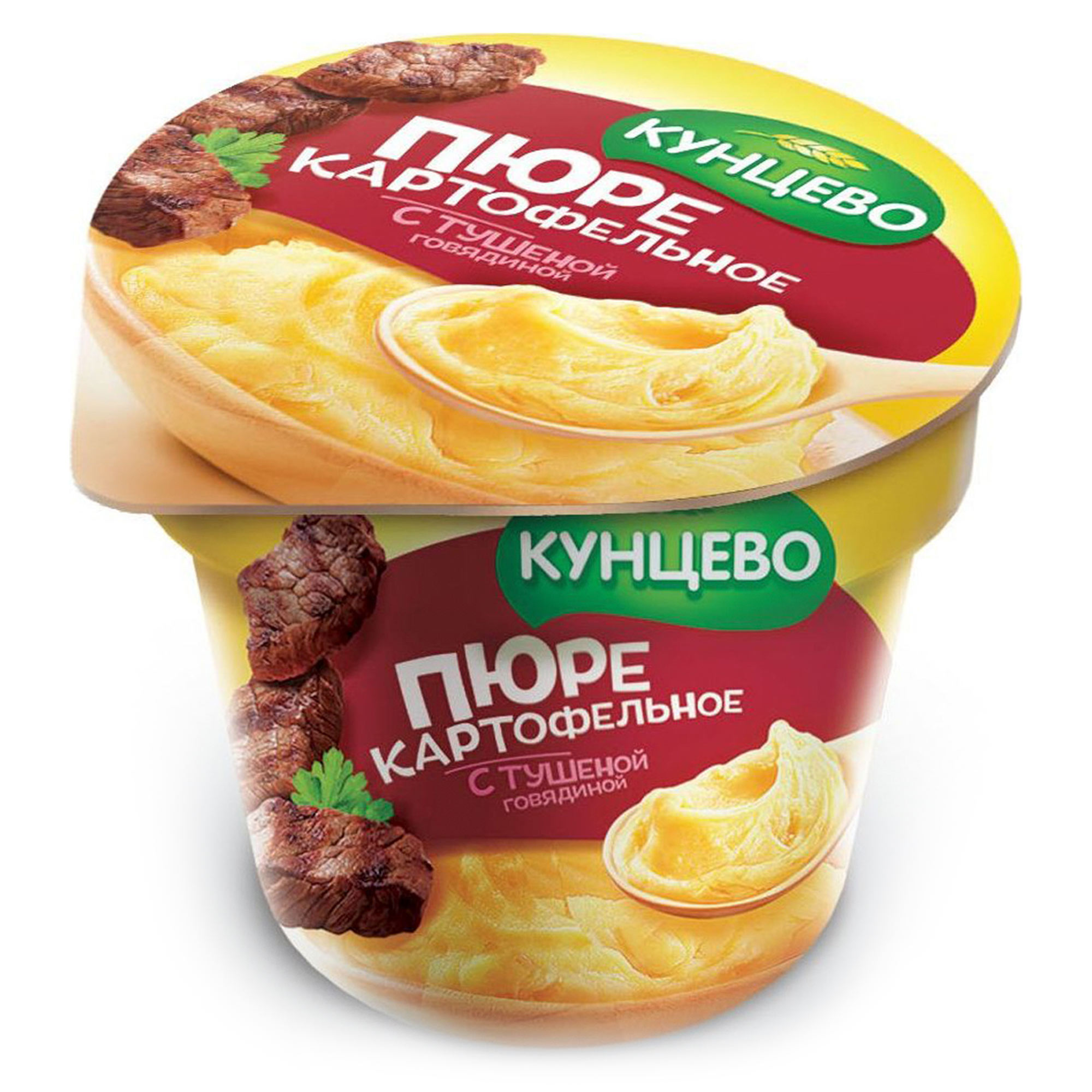 Картофельное пюре КУНЦЕВО cо вкусом тушеной говядины 40 г