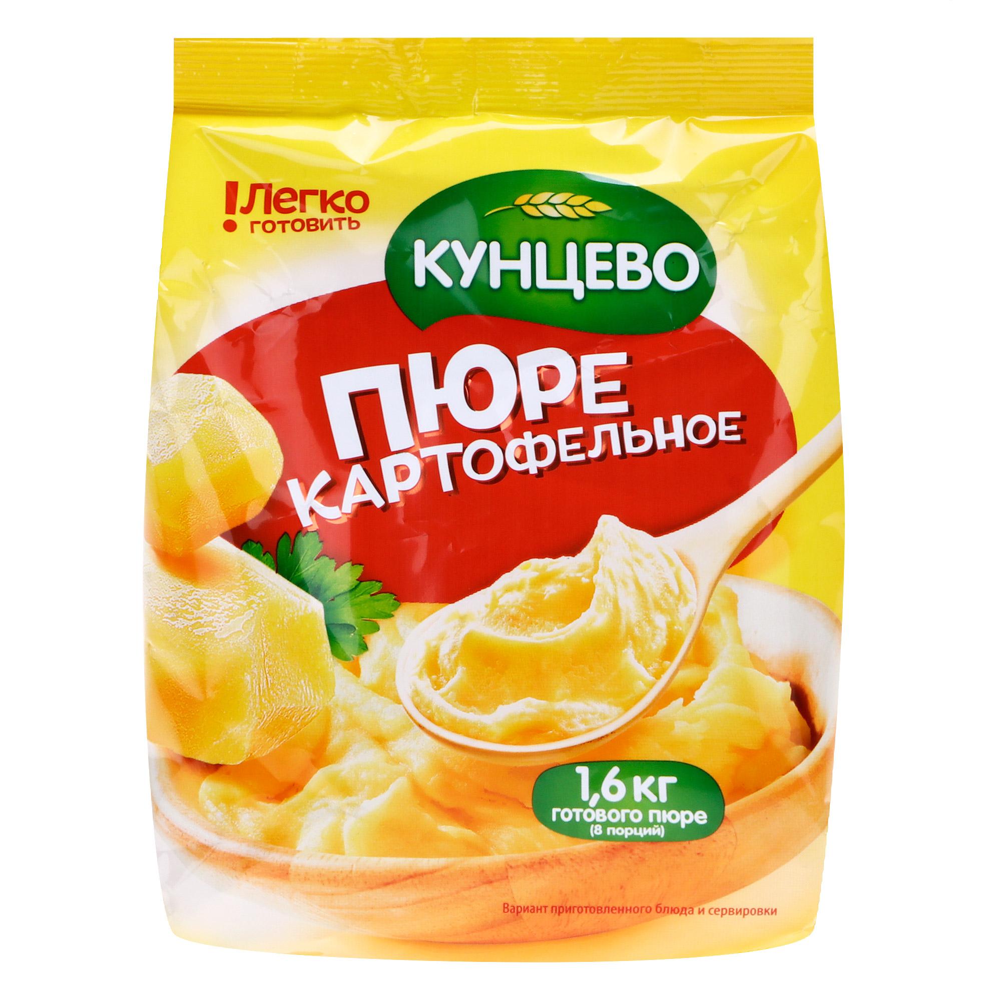 Картофельное пюре КУНЦЕВО без добавок 240 г