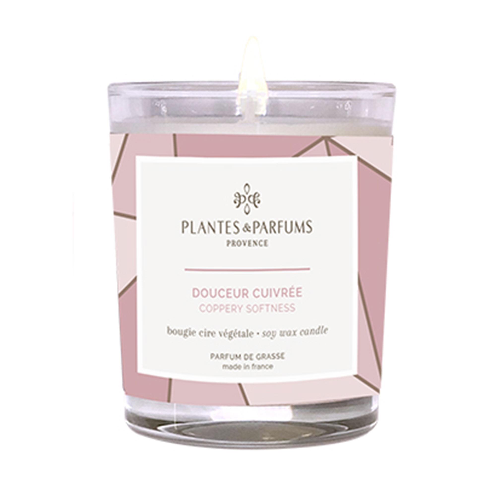 Ароматическая свеча Plantes et Parfums Пудровая безмятежность 75 г ароматическая свеча plantes et parfums сверкающие звезды 75 г