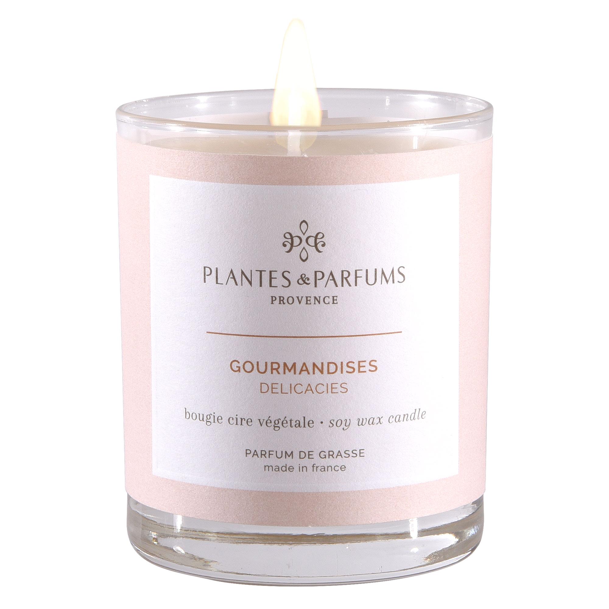 Ароматическая свеча Plantes et Parfums Лакомства прованса 180 г ароматическая свеча plantes et parfums сверкающие звезды 75 г