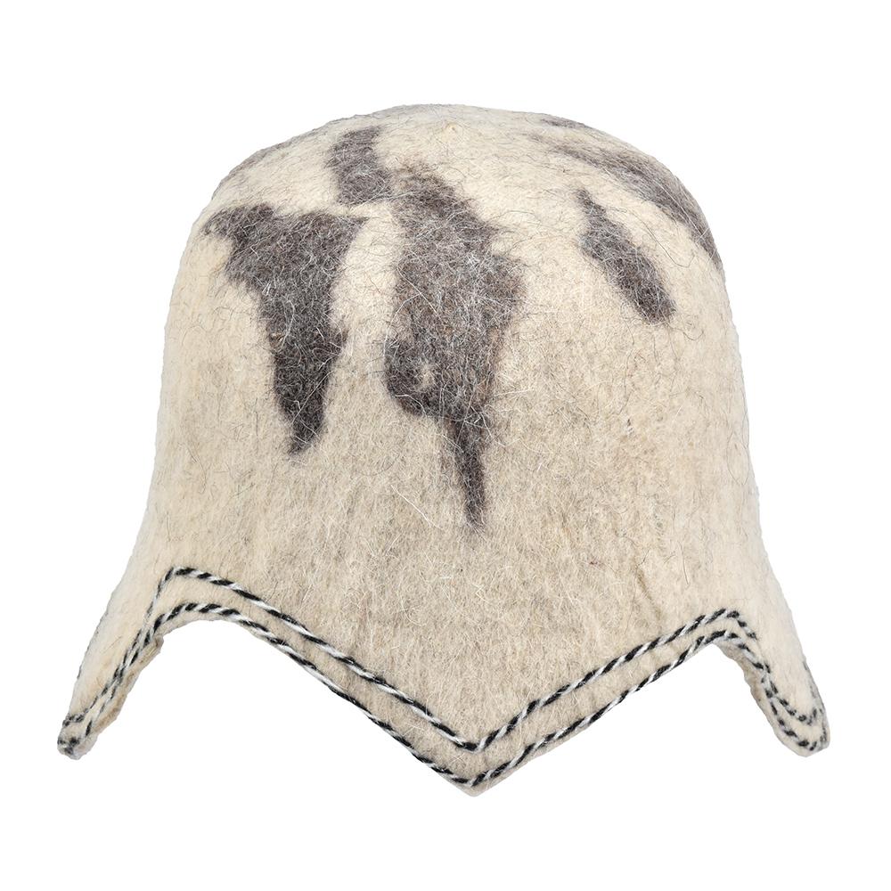 Фото - Банная шапка Банные штучки Воин шерсть 100% шапка банная банные штучки добрая баня войлок 100
