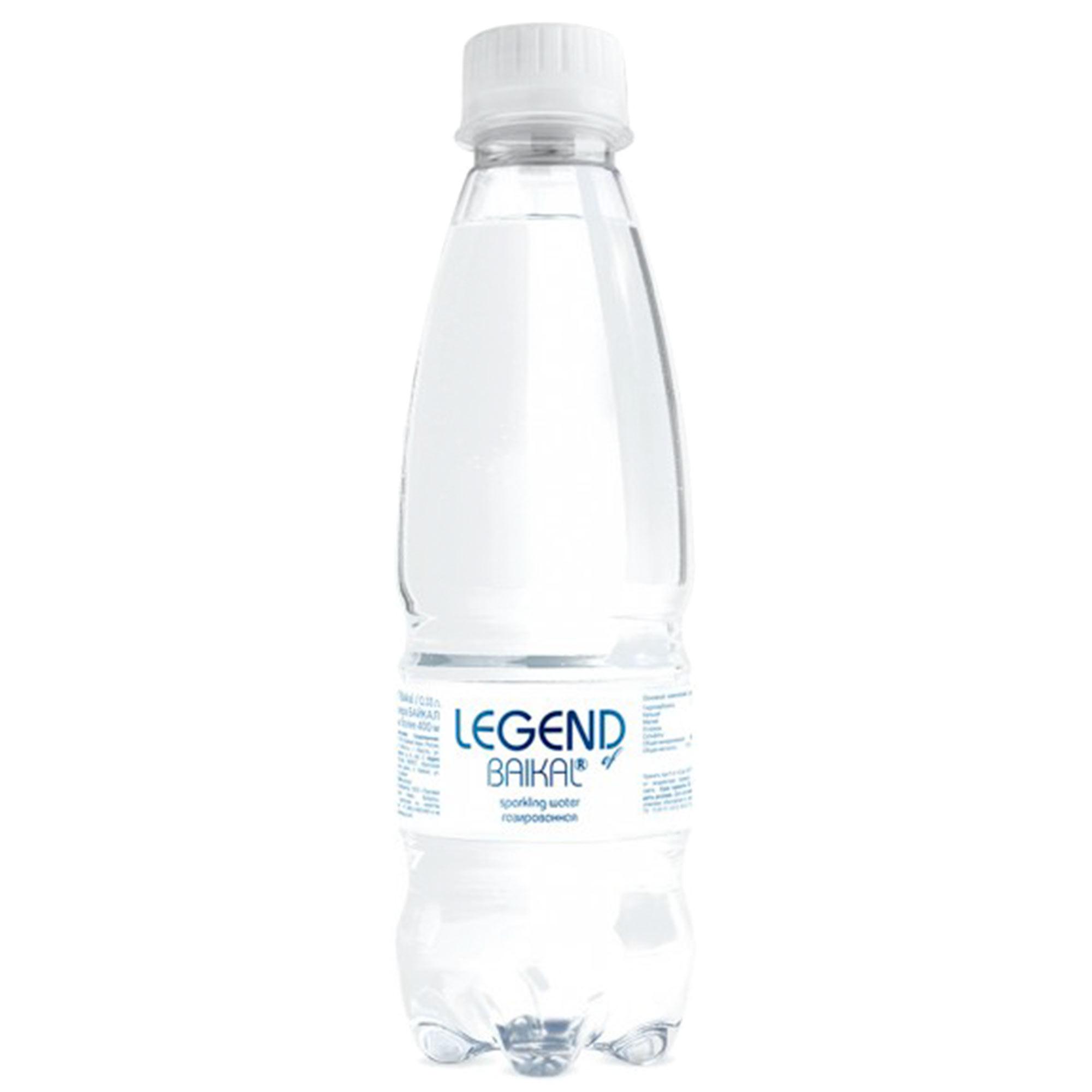 Вода питьевая Legend of Baikal глубинная газированная 330 мл