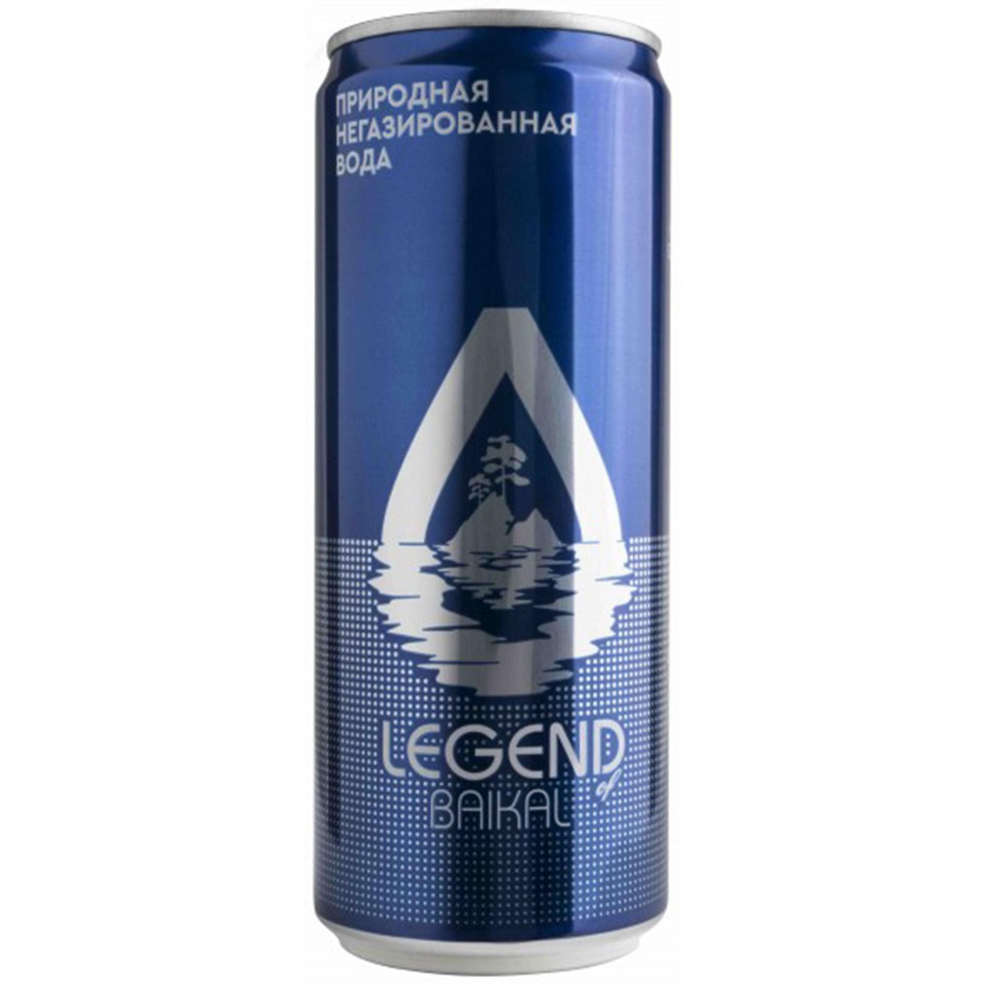 Вода питьевая Legend of Baikal глубинная негазированная 330 мл