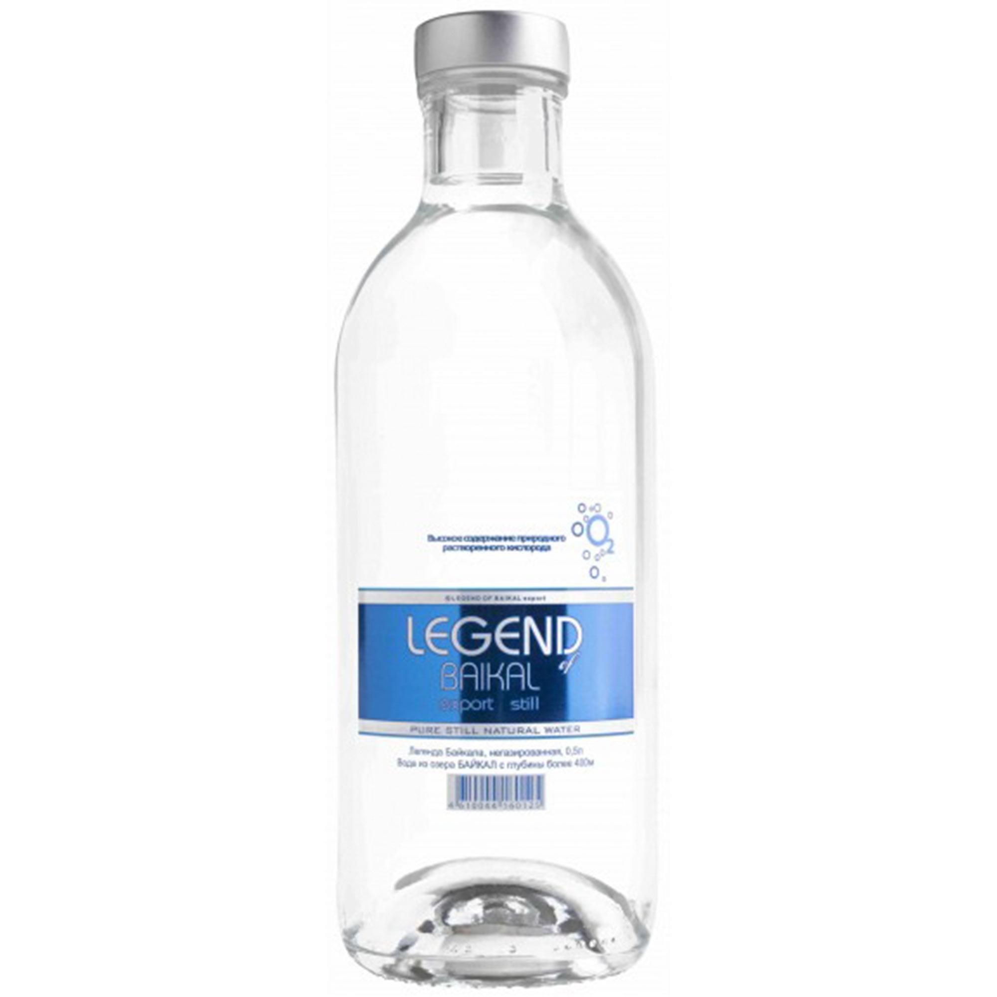 Вода питьевая Legend of Baikal глубинная негазированная 500 мл