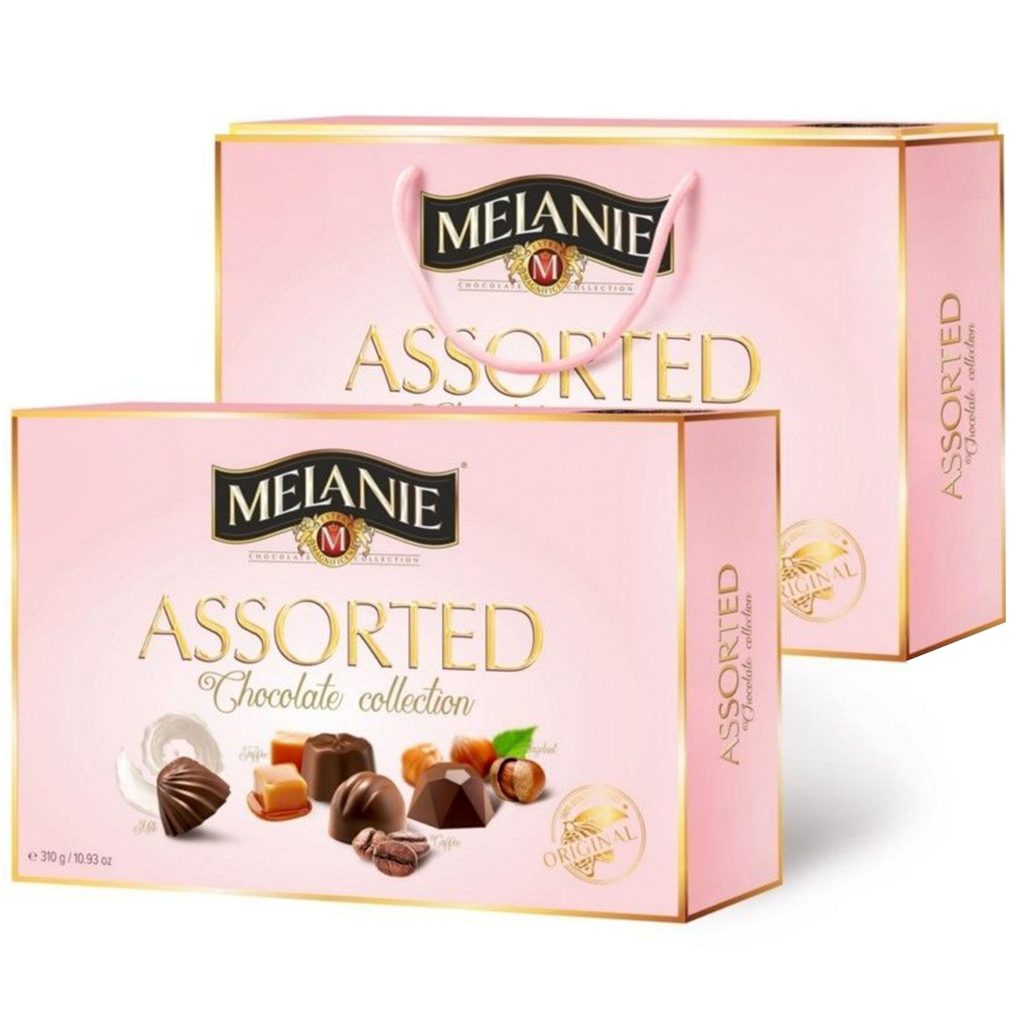 Фото - Подарочный набор конфет Melanie Ассорти 310 г набор конфет merci ассорти 400 г