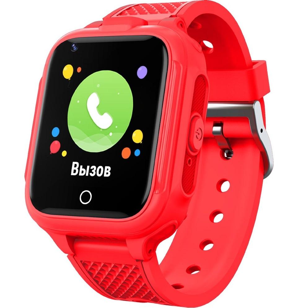 Фото - Смарт-часы GEOZON 4G Plus G-W14RED Red смарт часы geozon 4g g w13pnk