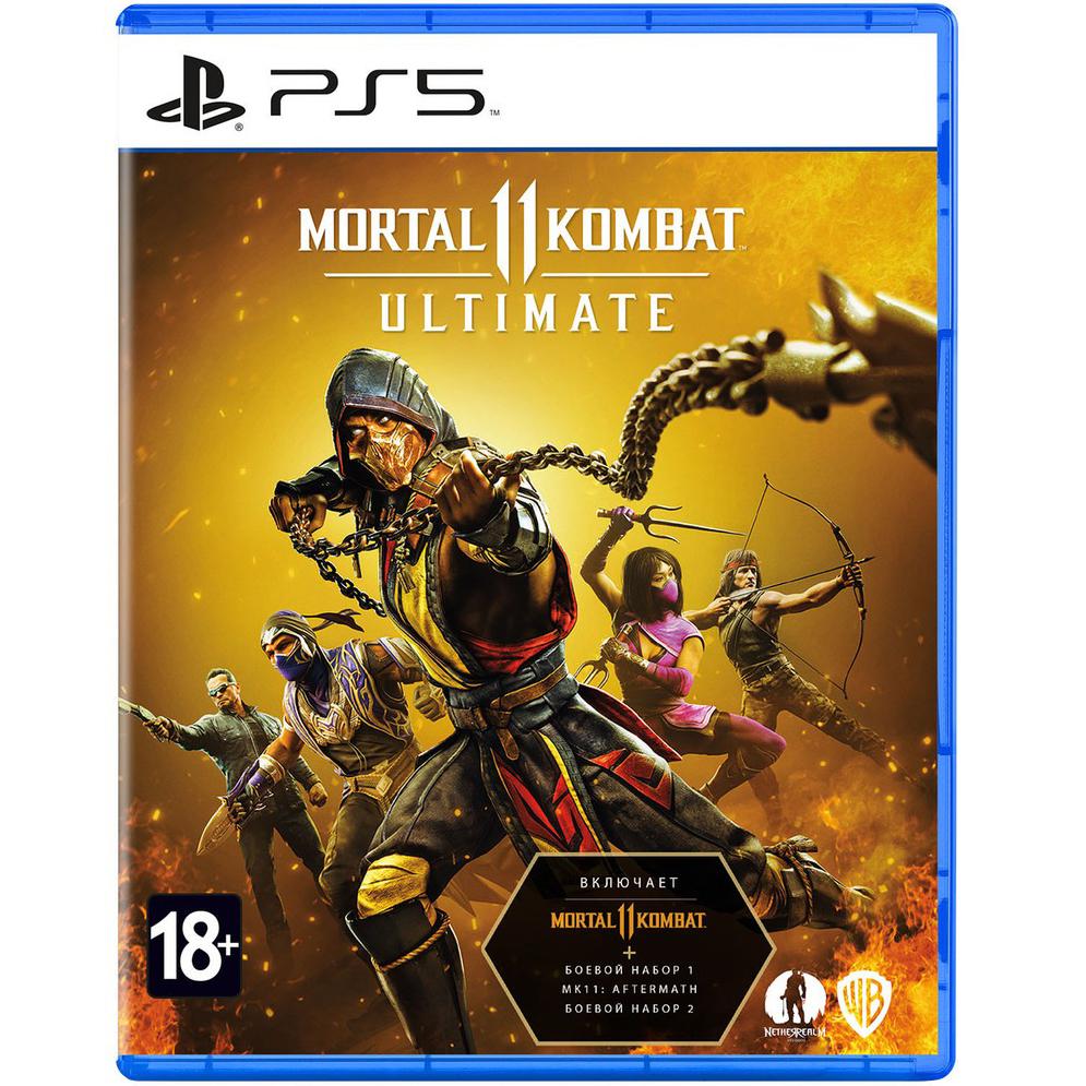 Игра для Sony PS5 Mortal Kombat 11 Ultimate русские субтитры