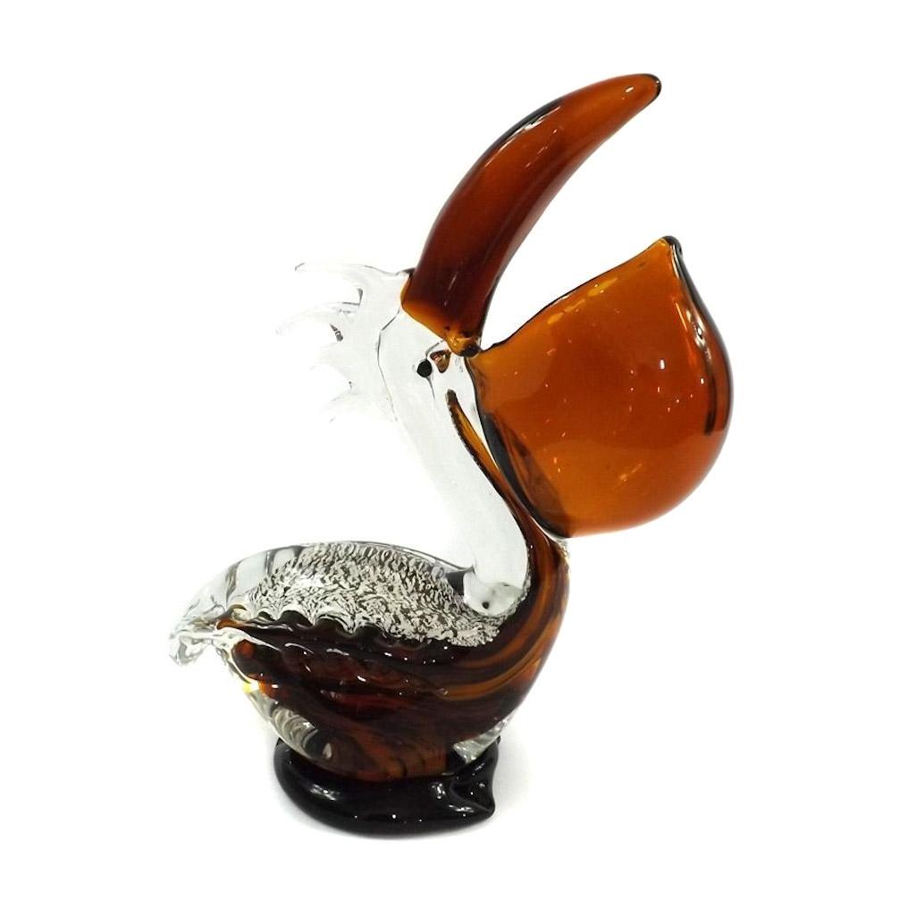 Фигурка Art glass Пеликан 22х26 см фигурка art glass пеликан 22х26 см