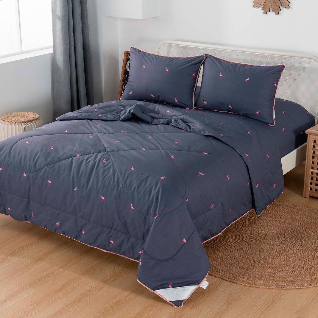 Комплект постельного белья с одеялом Sofi De Marko Дарси Евро (КТ-ЕВРО-СТ49) комплект постельного белья с одеялом sofi de marko дарси семейный кт 7е ст51