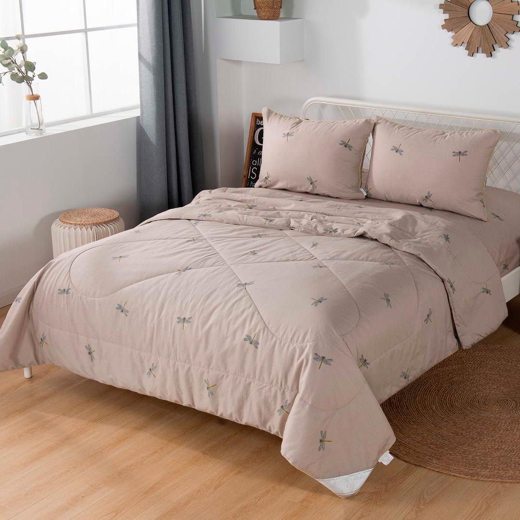 Комплект постельного белья с одеялом Sofi De Marko Ришелье Семейный (КТ-7Е-Р1) комплект постельного белья с одеялом sofi de marko дарси семейный кт 7е ст51
