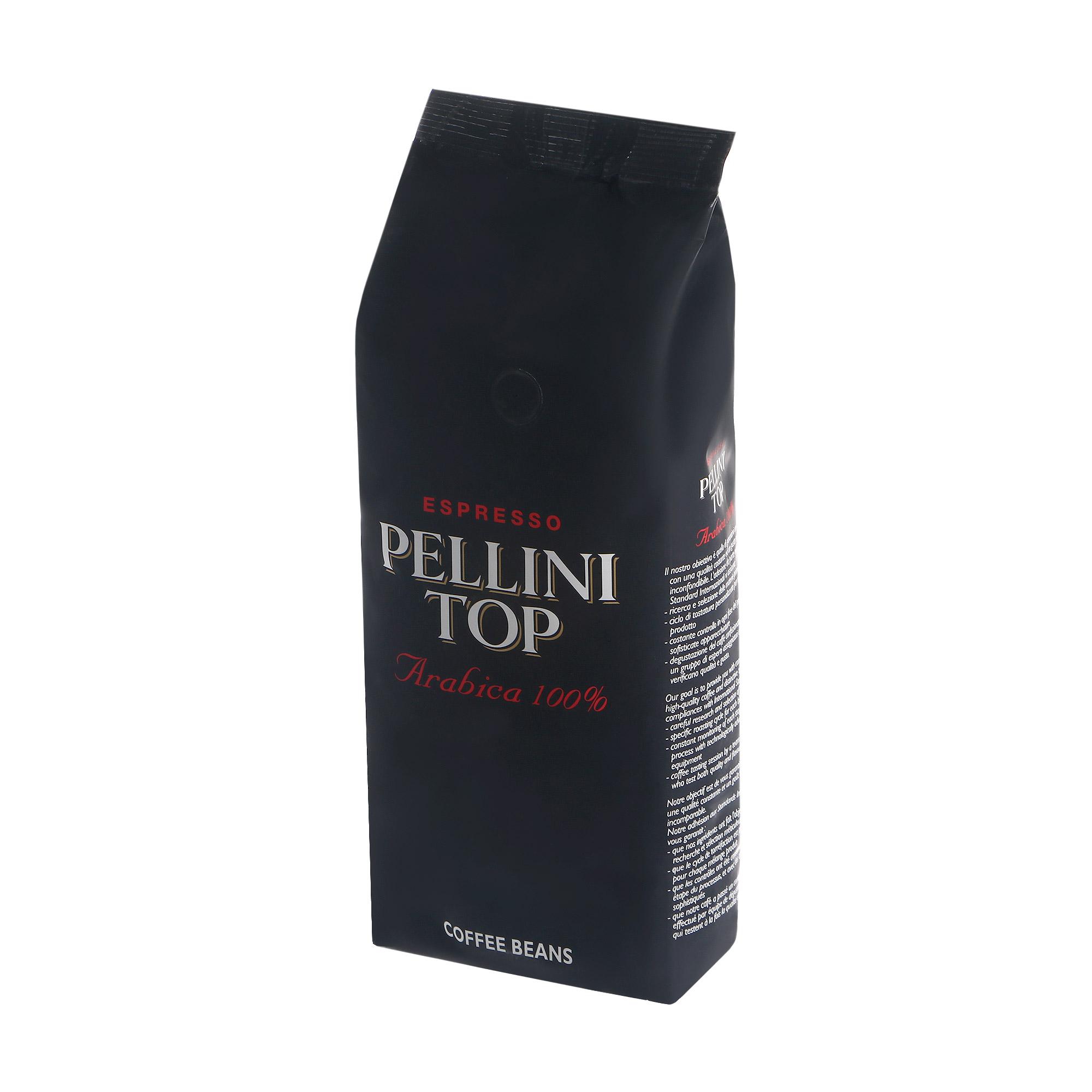 Кофе зерновой Pellini Top Beans 500 г