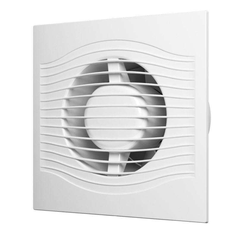 Вентилятор Diciti SLIM 4C осевой вытяжной с обратным клапаном D 100 недорого