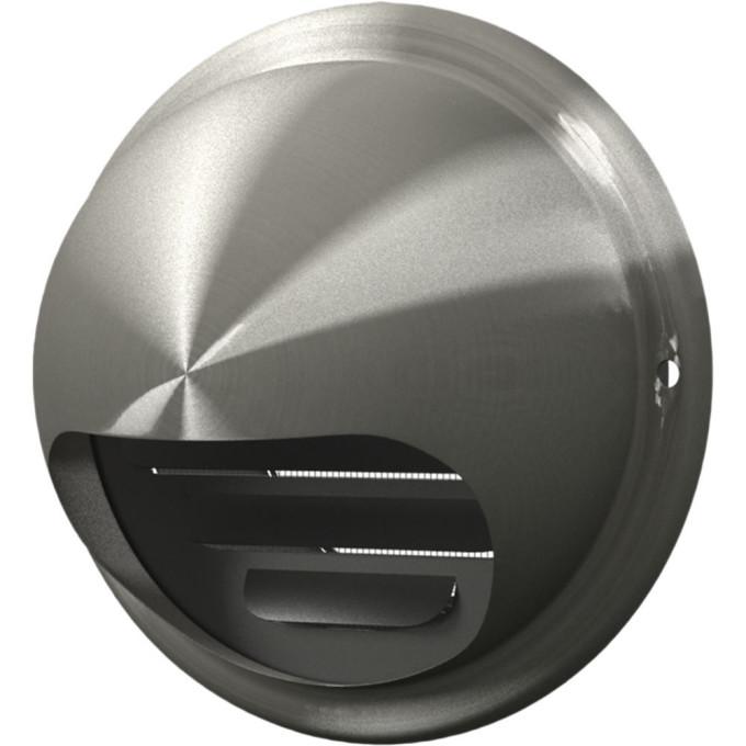 Выход стенной вентиляционный вытяжной Era металлический с фланцем D125 выход era стенной вентиляционный вытяжной металлический с фланцем d100 10вм