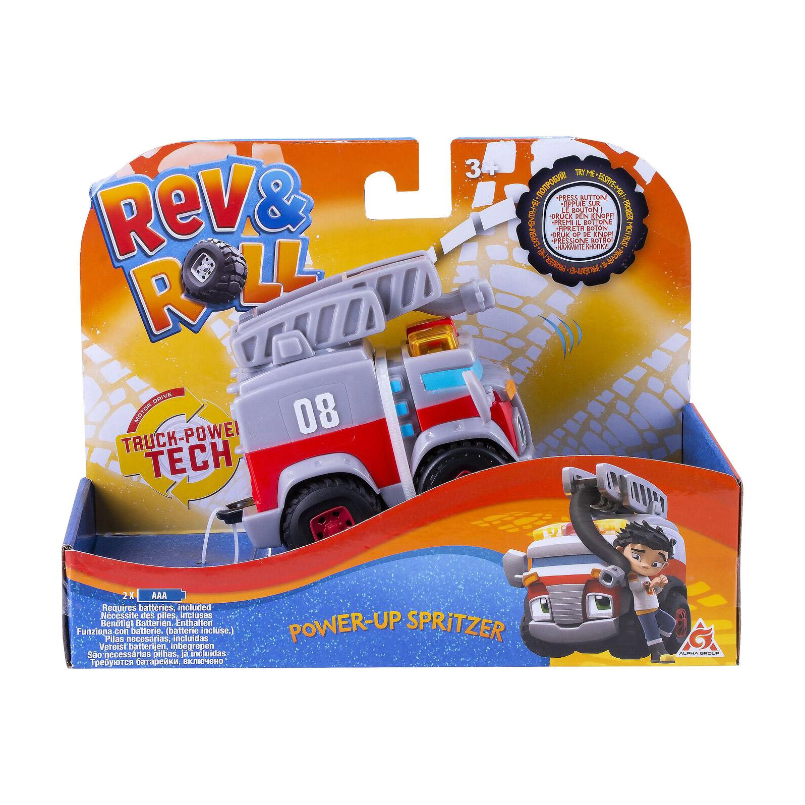 Машинка Rev&Roll Сприцер машинка alpha toys rev