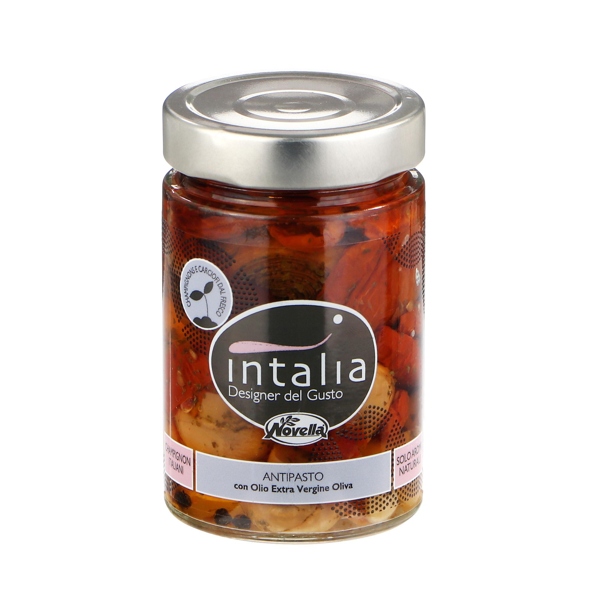 Закуска Novella Intalia из овощей и грибов, 280 г