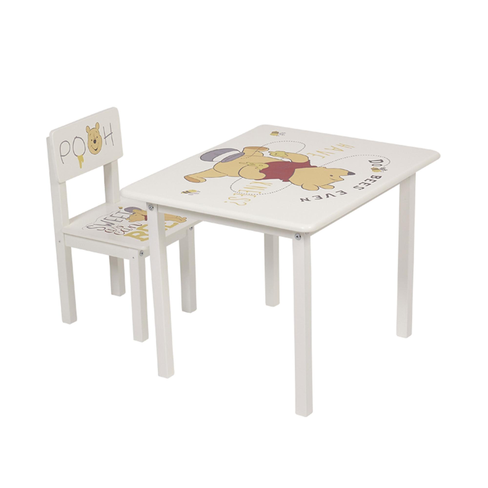 Фото - Комплект детской мебели Polini Kids Disney baby 105 S, Медвежонок Винни, белый шкаф трехсекционный polini kids disney baby медвежонок винни и его друзья белый макиато 190х135х52