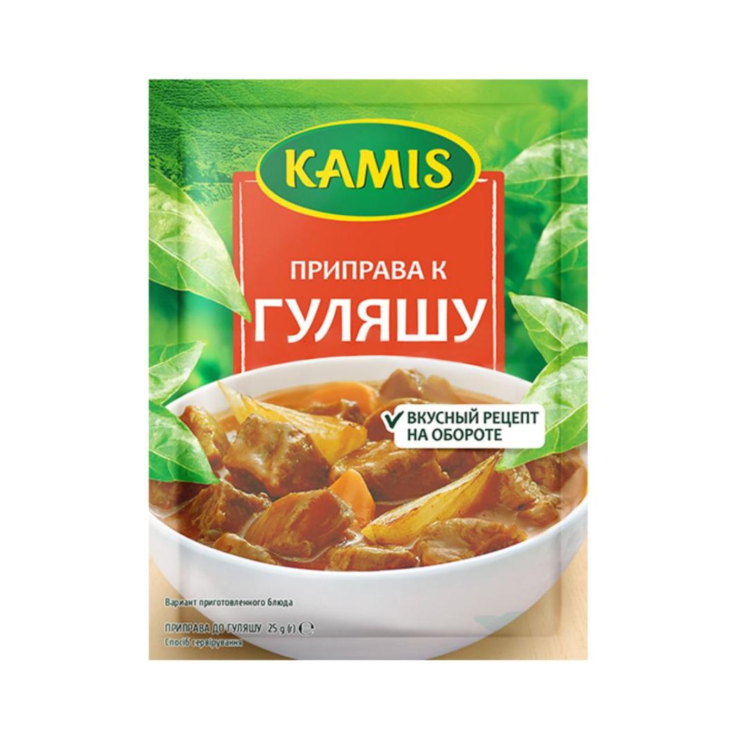 Приправа Kamis к гуляшу 25 г kamis приправа травы средиземноморья 4х10 г