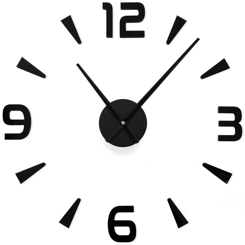 Часы настенные Jjt diy 120 см черные