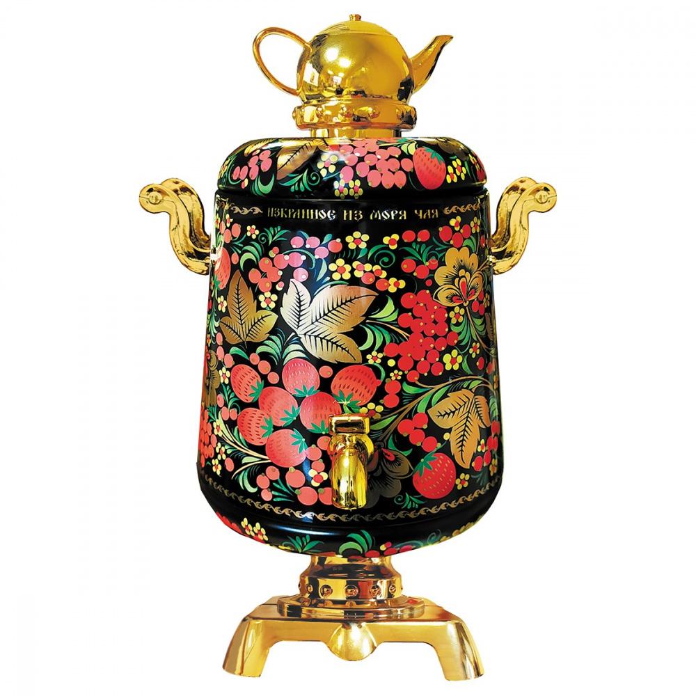 Чай черный ИМЧ Самовар красный 75 г чай черный избранное из моря чая игристое настроение синяя бутылка 50 г