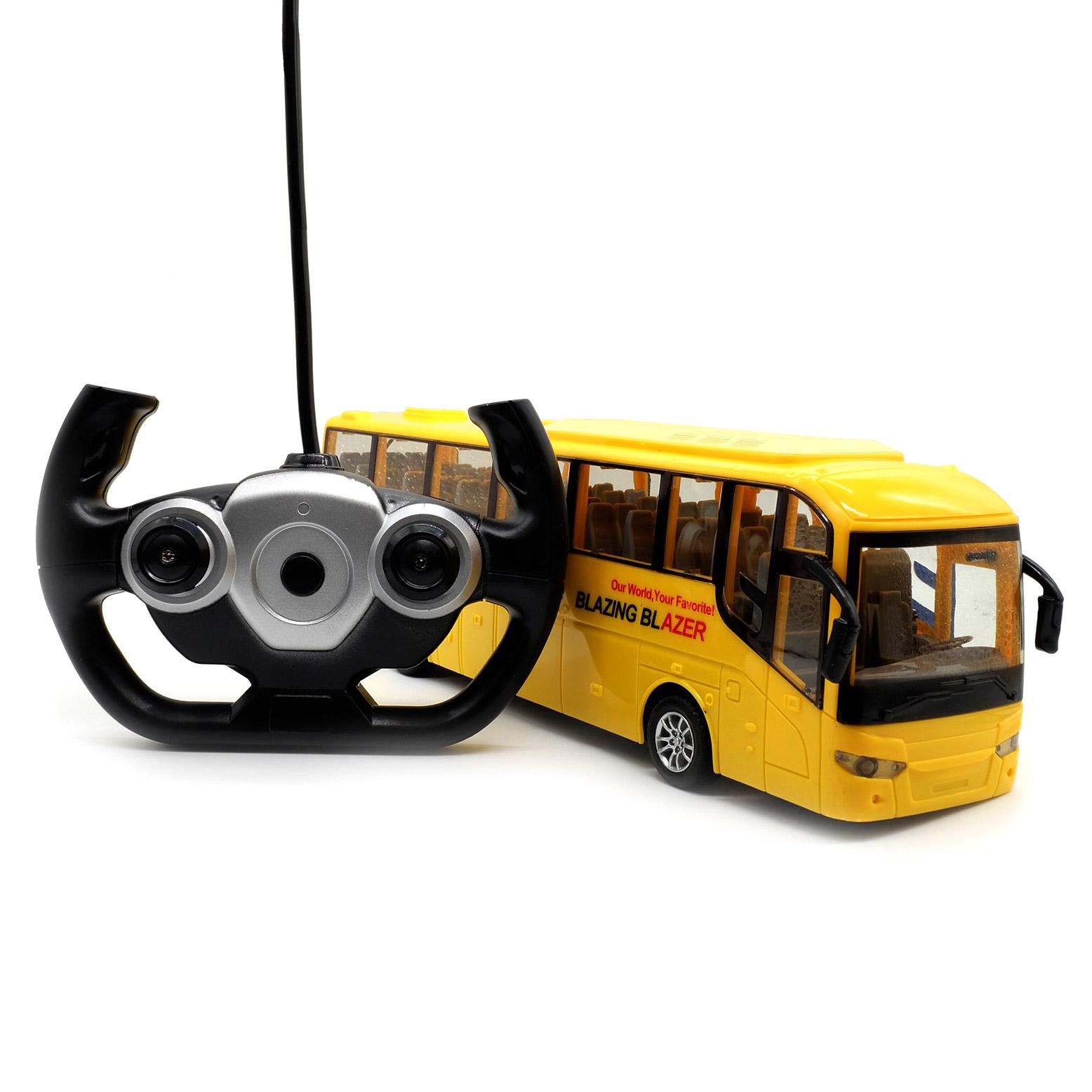 Фото - Автобус Maya toys HK Industries РУ Желтый машины maya toys машинка крутая тачка