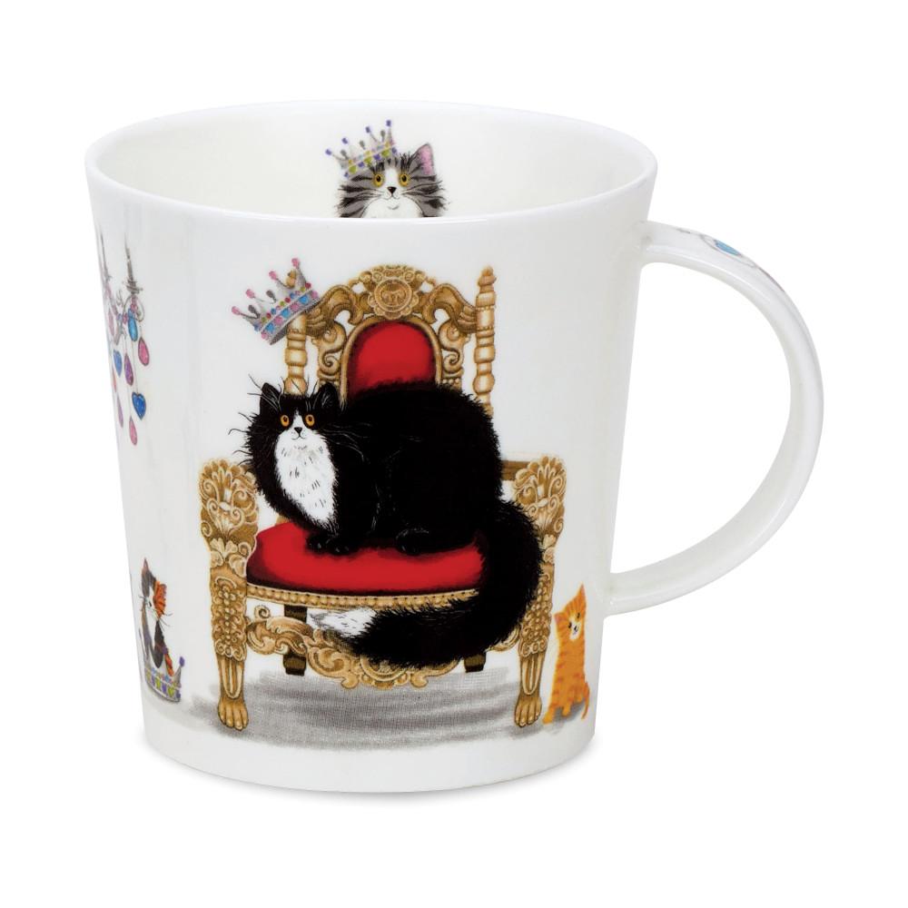 Кружка Dunoon Королевская черная кошка 320 мл