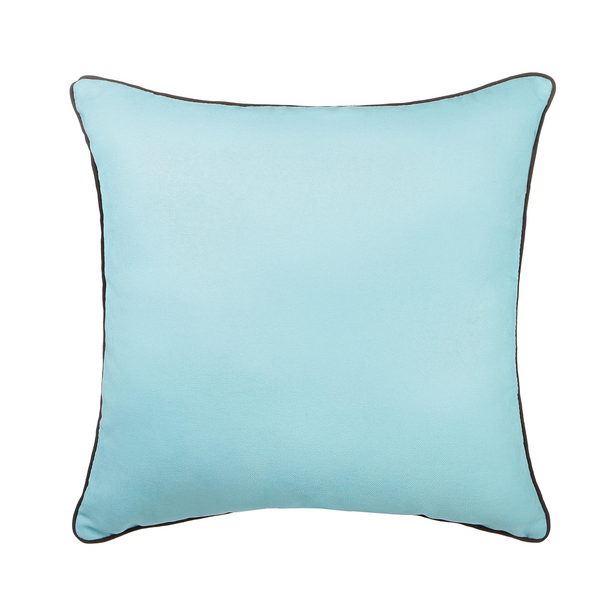 Декоративная подушка Sanpa Элиза бирюзовая 40х40 см подушка декоративная коллекция а6 камуфляж 40х40 см