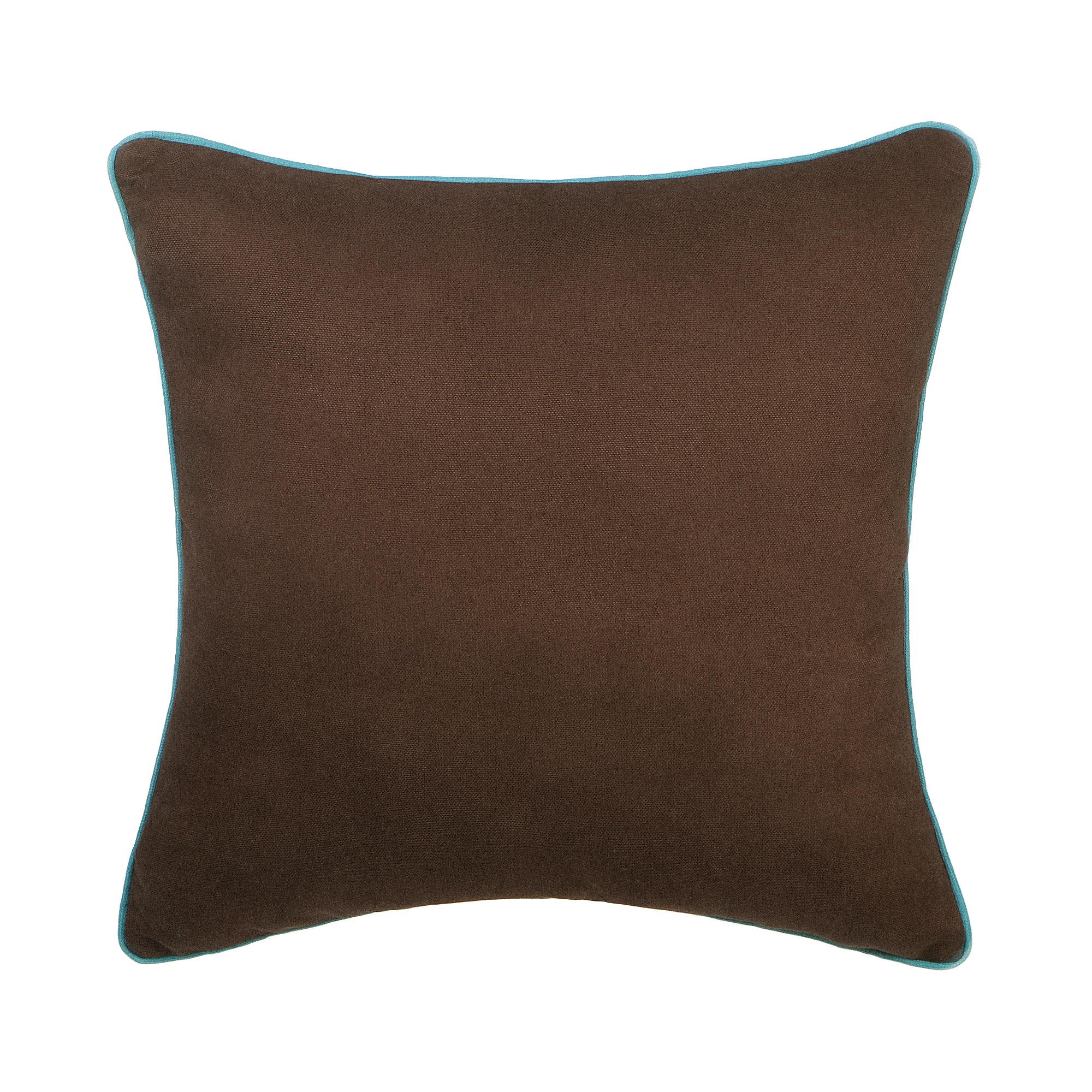 Декоративная подушка Sanpa Элиза коричневая 40х40 см подушка декоративная коллекция а6 камуфляж 40х40 см