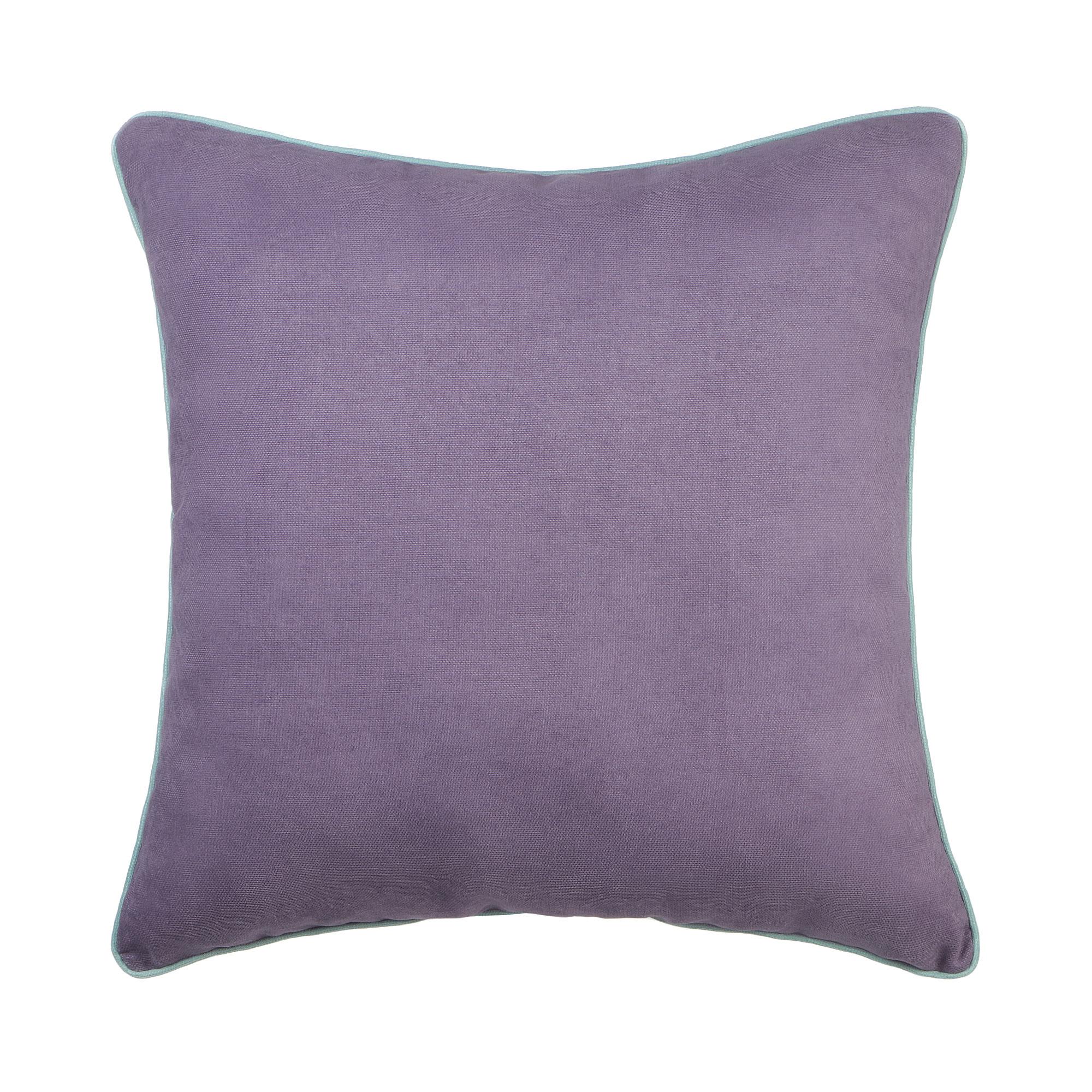 Декоративная подушка Sanpa Элиза сиреневая 40х40 см подушка декоративная коллекция а6 камуфляж 40х40 см