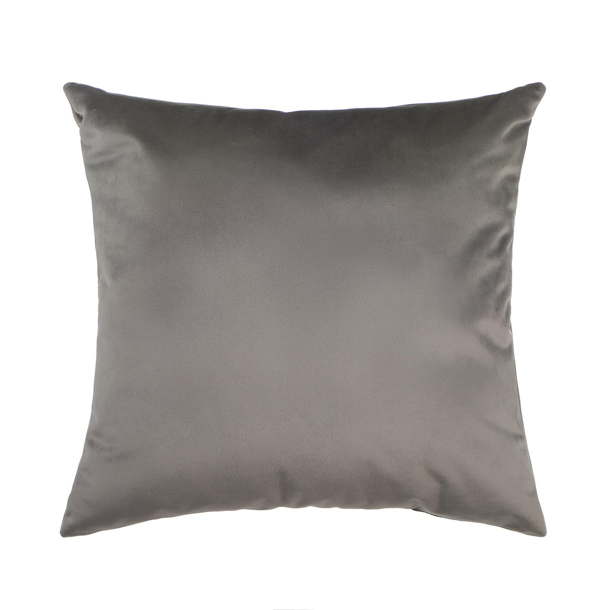 Декоративная подушка Sanpa Софи серая 40х40 см подушка декоративная коллекция а6 камуфляж 40х40 см