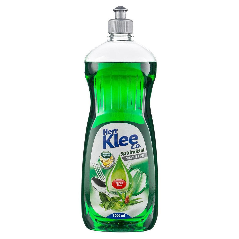 Средство для мытья посуды Herr Klee Алое и Мята 1 л средство для мытья посуды herr klee лимон и ромашка 1 л