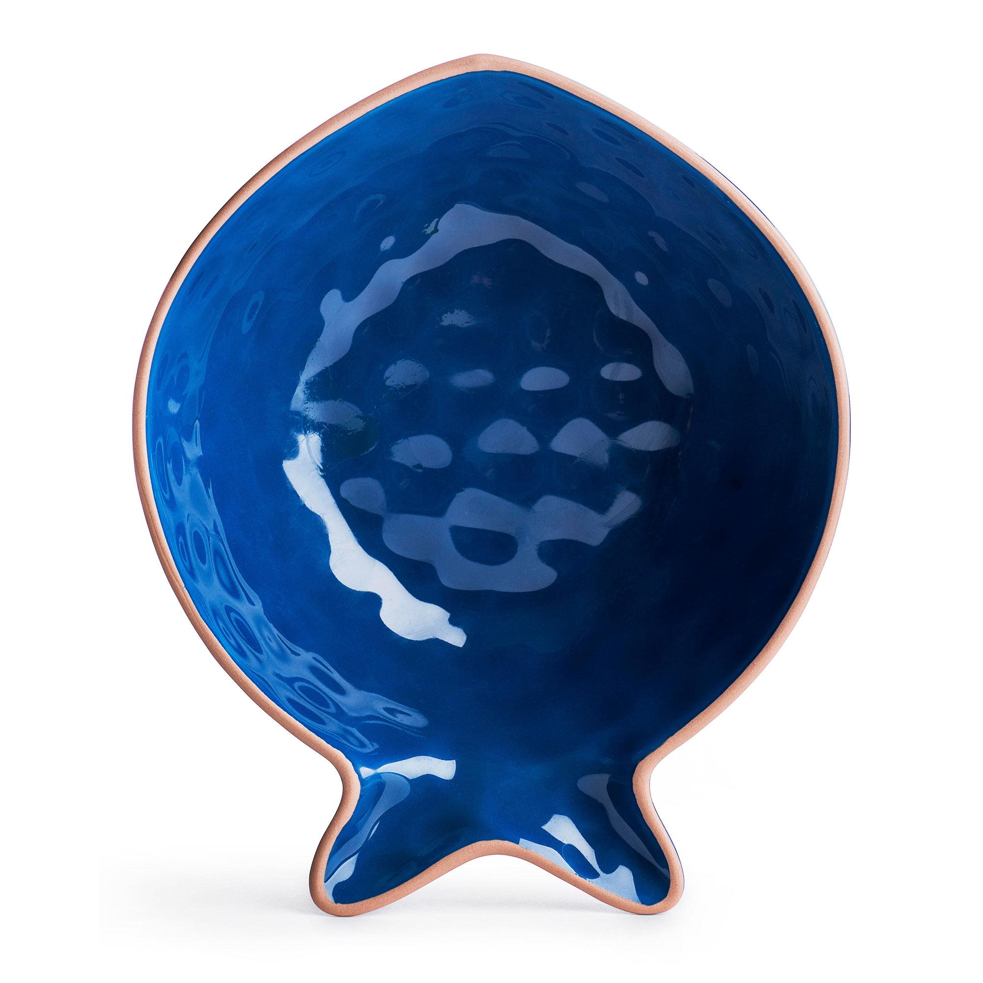 Блюдо сервировочное Sagaform Рыба Kitchen малое синее